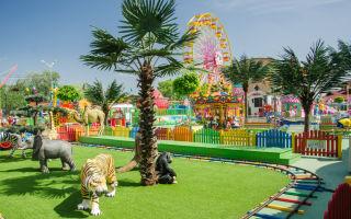 Анапа: детские парки развлечений