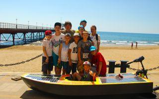 «Орленок» — всероссийский детский лагерь на Черном море