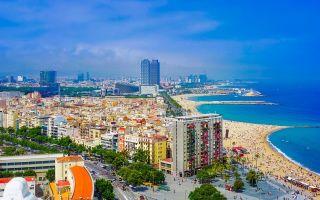 Барселона: отдых с детьми на море