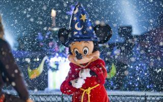 Парижский Диснейленд зимой: с ноября по март, на Новый год и Рождество