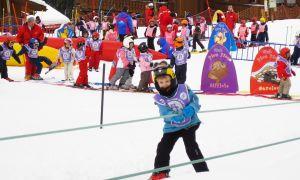 Отдых с детьми на горнолыжных курортах России