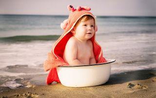 Что взять с собой на море с ребенком