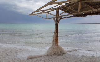 Мертвое море: отдых с детьми